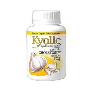 Kyolic® CHOLESTEROL Aged Garlic Extract™
