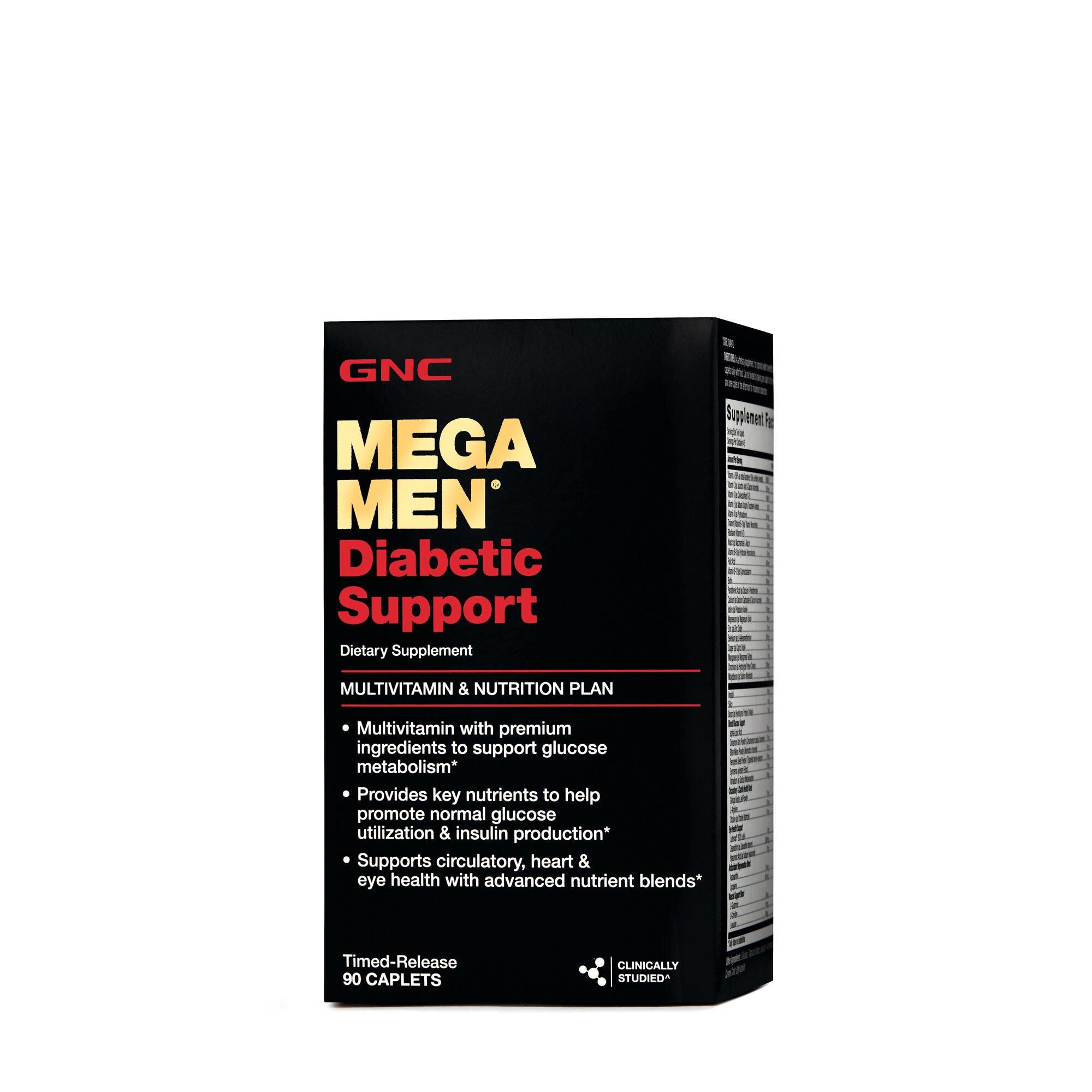 Mega Men® Diabetic Support