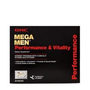 Mega Men® Performance & Vitality Vitapak® Program